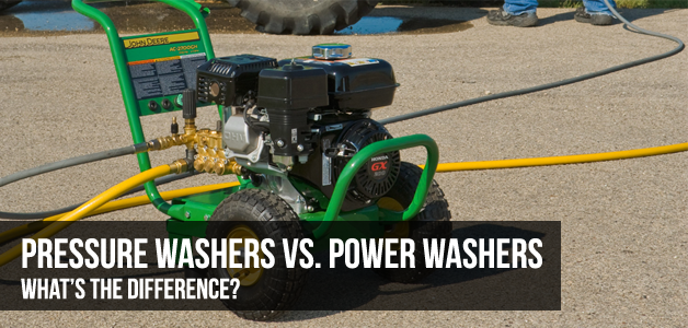 Power Washers Vs. Pressure Washers