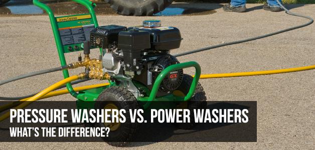 Power Washers Vs. Pressure Washers