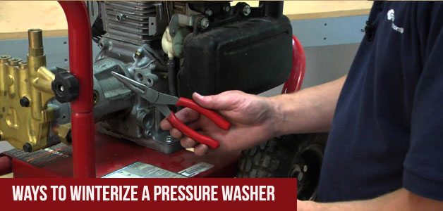 How To Winterize you Pressure-Washer