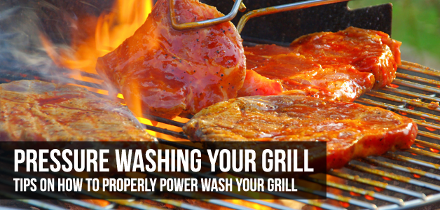 How To Power Wash Your Grill or BBQ