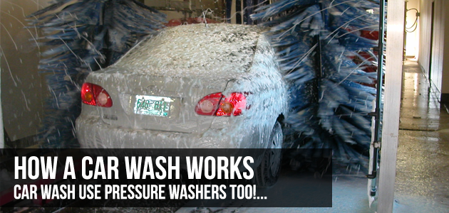 How Does a Car Wash Work