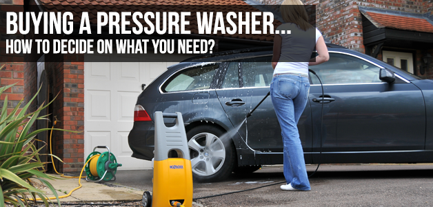 primer on buying a pressure washer