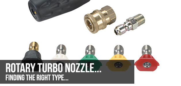 Finding The Right Rotary Turbo Nozzle