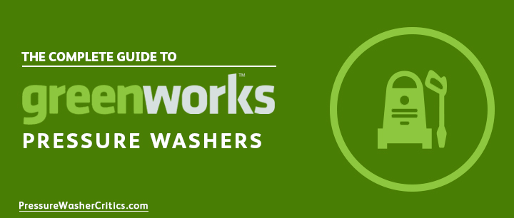 best greenworks pressure washer