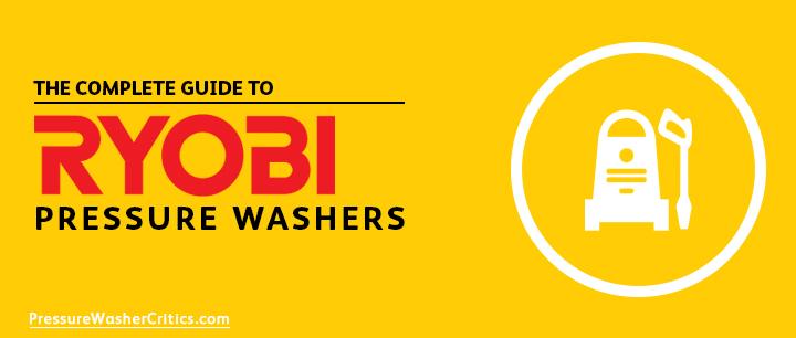 best ryobi pressure washers