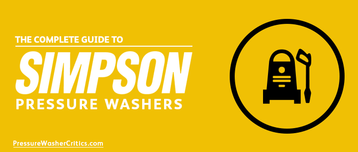 best simpson pressure washer