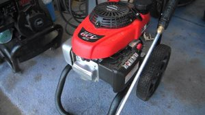 red honda power washer